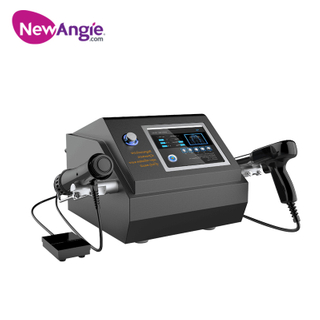 2 in 1 Pneumatic/ Electromagnetic Shockwave Therapy Machine for Sale